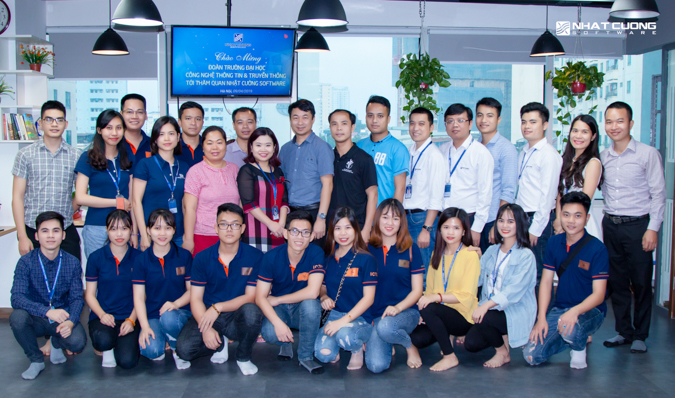 Giao lưu hợp tác giữa Khoa CNTT (FIT- ICTU) và công ty Nhật Cường Software (NCSW)